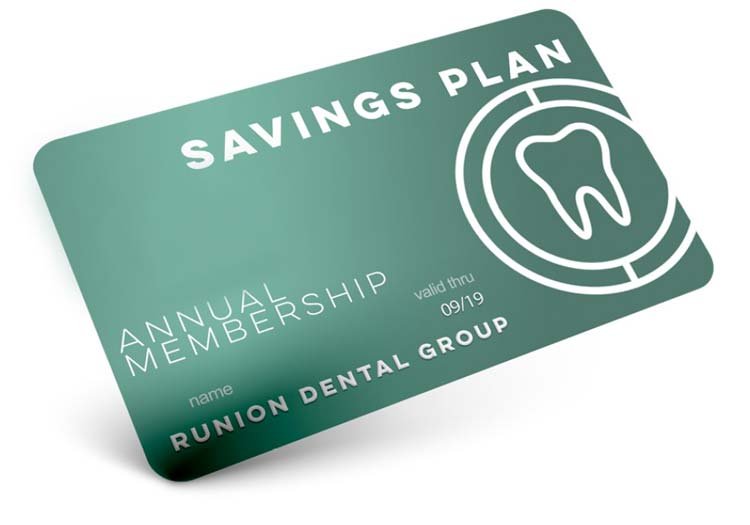In-Office Savings Card